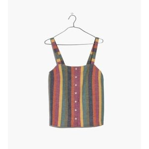 Madewell - Linen - Rainbow Striped Tank